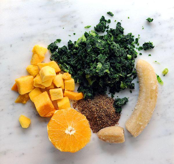 Super Healthy Green Smoothie | Yummy! | Pinterest