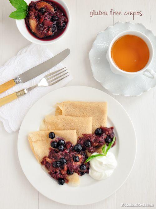 Gluten Free Crepes. | Gluten Free | Pinterest