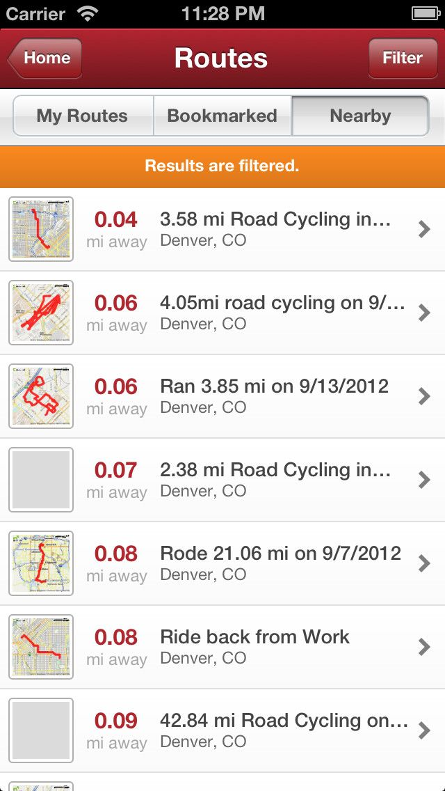 tracking gps in iphone