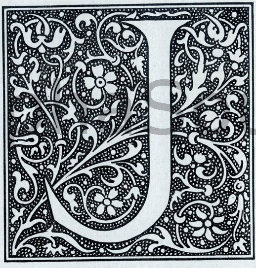 Medieval Alphabet Coloring Pages : The gallery for gt illuminated medieval letters
