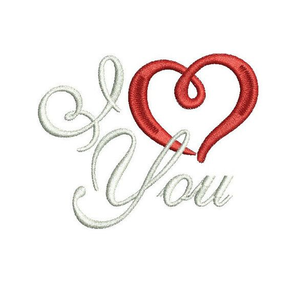 valentine's day machine embroidery projects