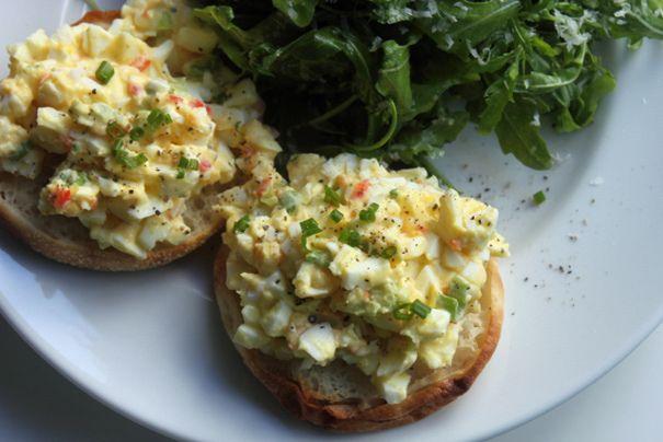 deviled egg salad | Noms | Pinterest
