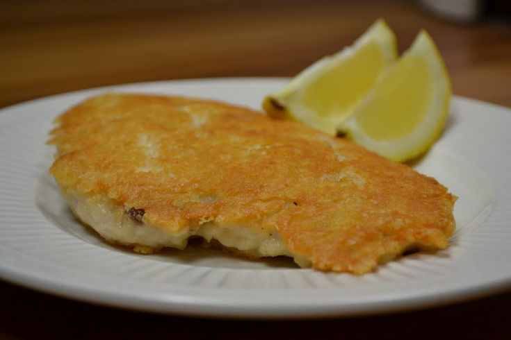 Parmesan-Crusted Chicken Cutlets | Foooooood | Pinterest