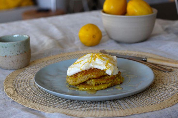 Lemony Quinoa Hot Cakes