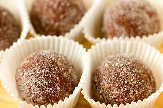 Chocolate Bourbon Balls. THIS is my grandmother's recipe. Come to find ...