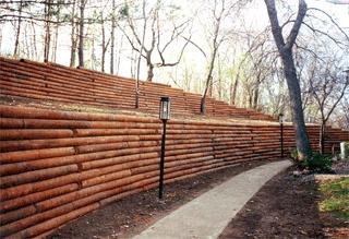 Timber walls Landscape Ideas Pinterest