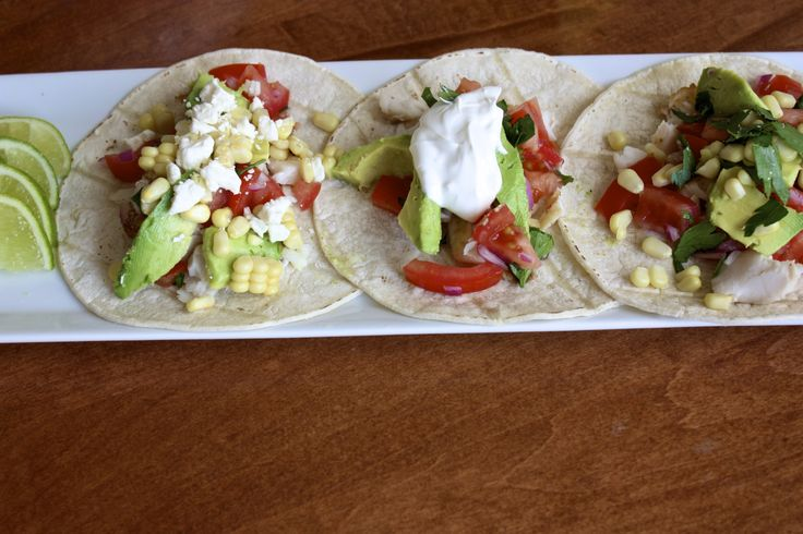 Fresh fish tacos | Yums | Pinterest