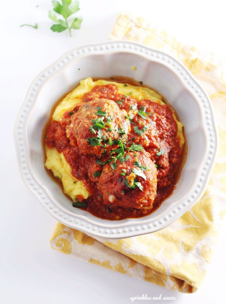 Pork and Veal Meatballs in Tomato Sauce | Recipe