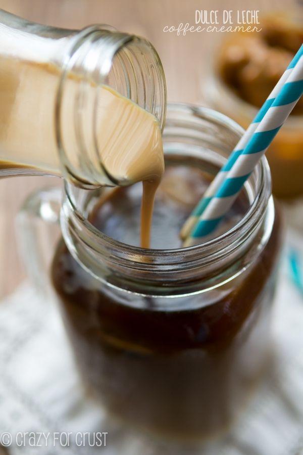 Dulce de Leche Coffee Creamer - only 2 ingredients!