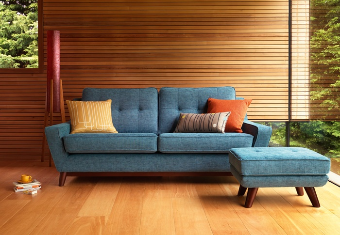 Loving the new retro sofa's from gPlan vintage.