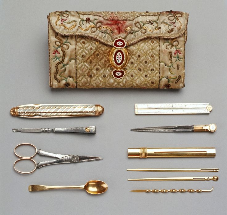 1781 made by Queen Charlotte Needlework pocket-book | The Royal Collection