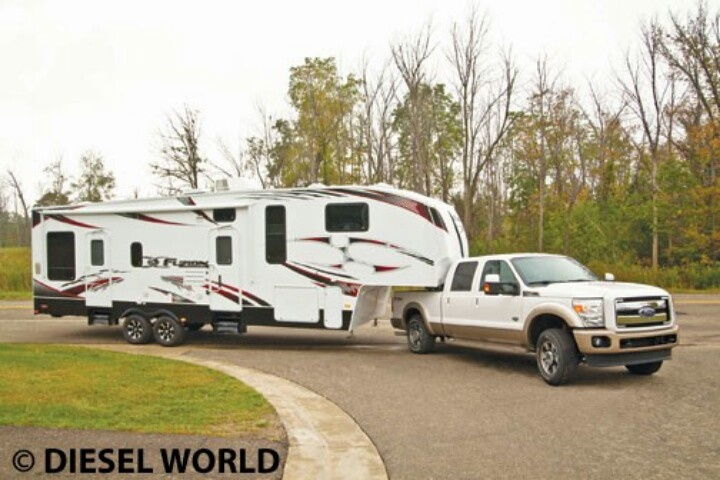 F350 Diesel Towing Capacity With 5th Wheel