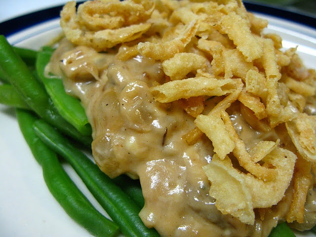 Deconstructed Green Bean Casserole | Food - Casseroles | Pinterest