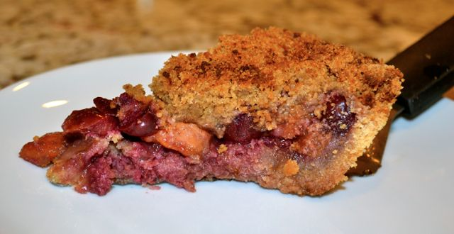 Cherry Peach Pie | Recipes to Cook | Pinterest