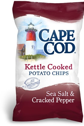 My new indulgence...Cape cod kettle chips sea salt and cracked pepper