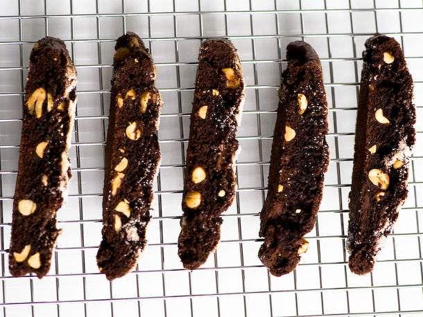 Chocolate Peanut Biscotti | Recipe