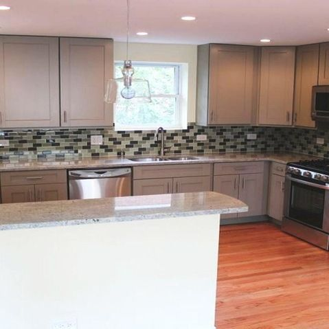 Mobile Home Kitchen Cabinets : Gray Kitchen Cabinets