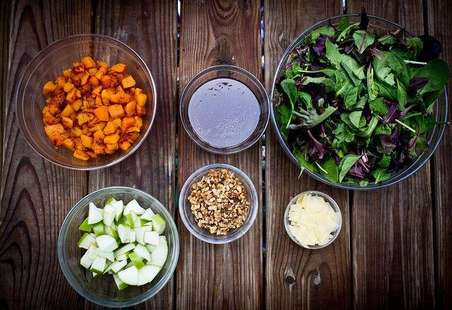 Butternut Squash Winter Salad | Kitchen Capers - Salads | Pinterest