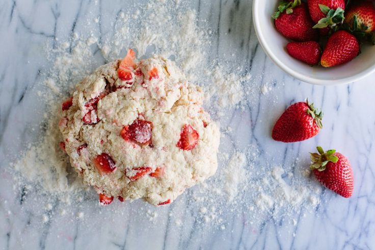 Strawberry Scones | FOOD AS ART | Pinterest