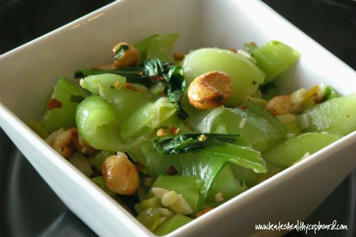 Cashew Bok Choy | Yum | Pinterest