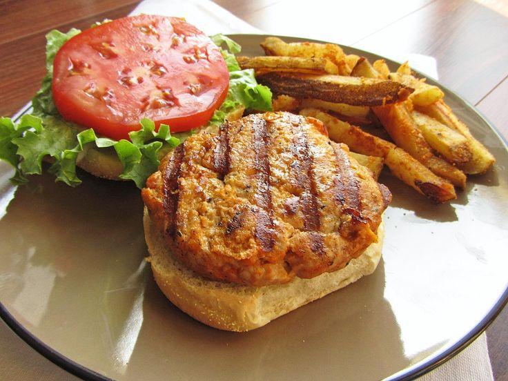 Buffalo Chicken Burgers | Main Meals | Pinterest