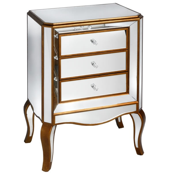 venetian mirrored furniture | Venetian Mirrors | Pinterest