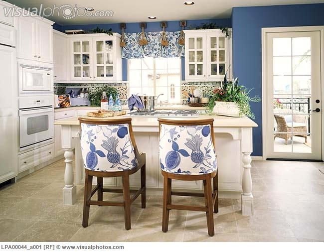 Blue Kitchen Design Ideas  awesome house stuff  Pinterest