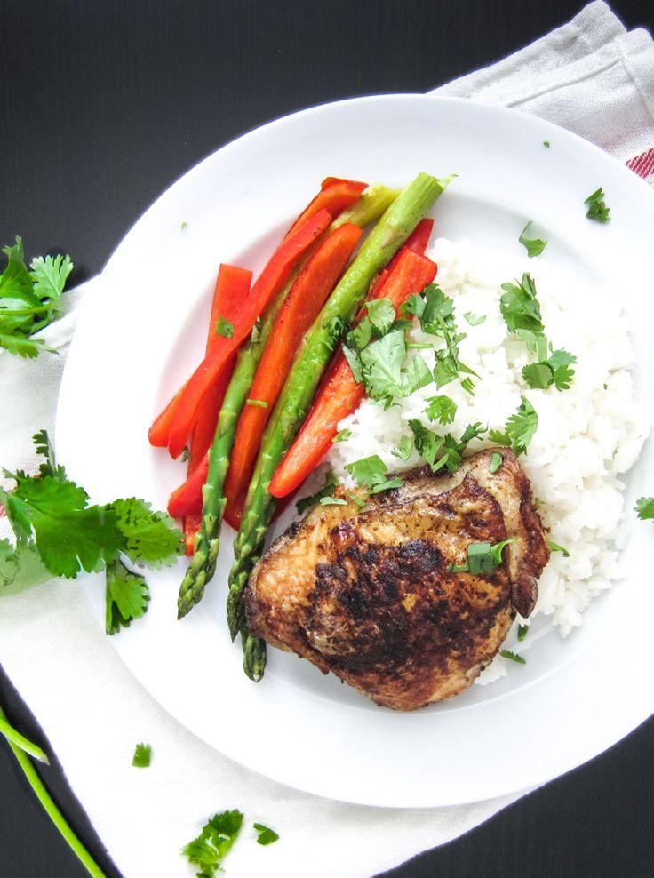 Indian Spiced Roast Chicken Thighs | Yummy Chicken | Pinterest