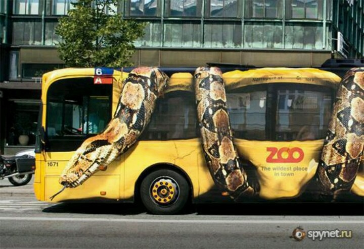 Awesome Bus paint job