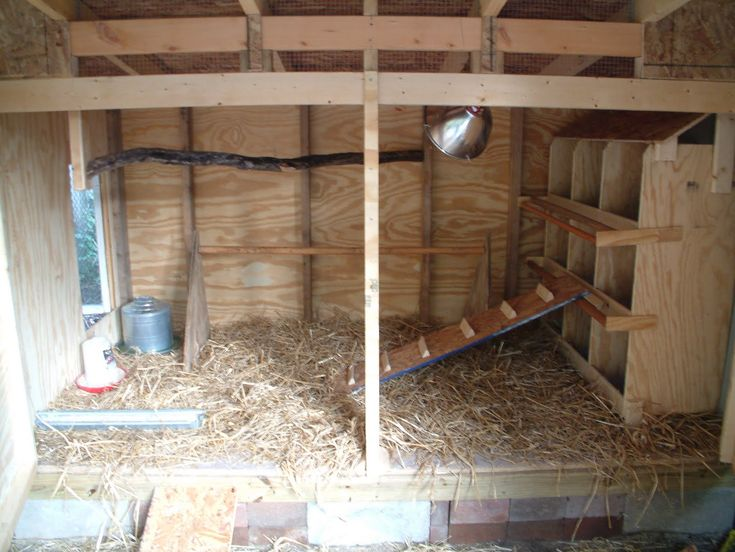 Inside the coop my style pinterest for Chicken coop interior designs
