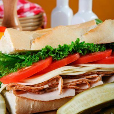 Deli-Style Italian Hoagie | good food | Pinterest