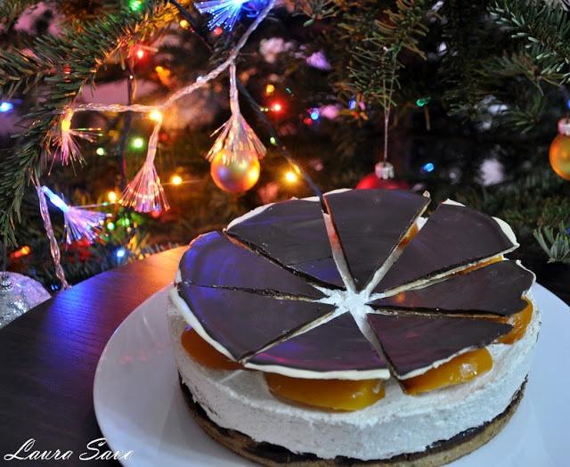 Tort cu crema de branza dulce   Retete culinare cu Laura Sava