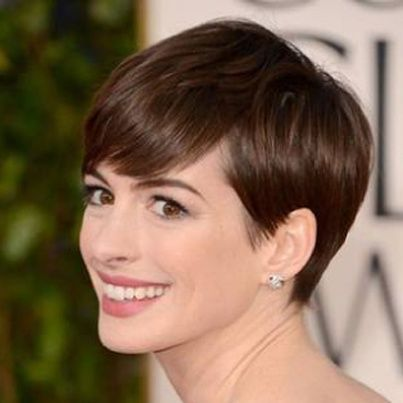 Short modified wedge. | hairstyles for Women. | Pinterest