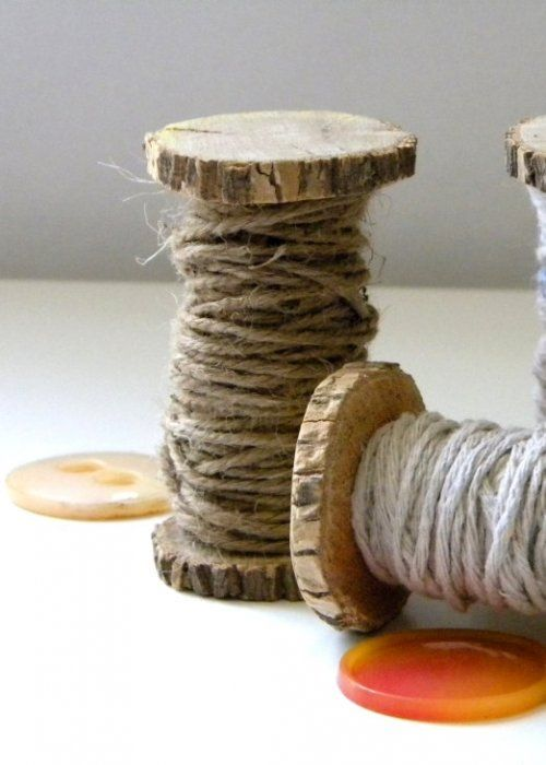 Branch Wood Spools