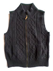 Women'S Sweater Vest Navy M 43
