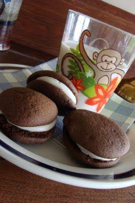 Marshmallow Filled Chocolate Cookies. from www.MennoniteGirlsCanCook ...