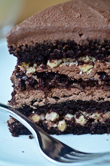 chocolate malt cake | Chocolate Chocolate Chocolate | Pinterest
