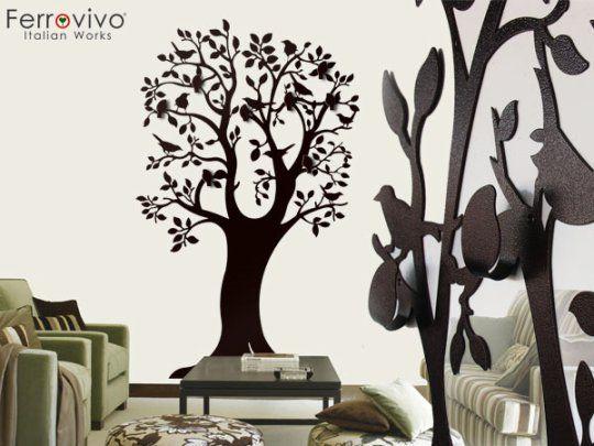 attaccapanni a muro, albero roma decorare e arredare casa - home de ...