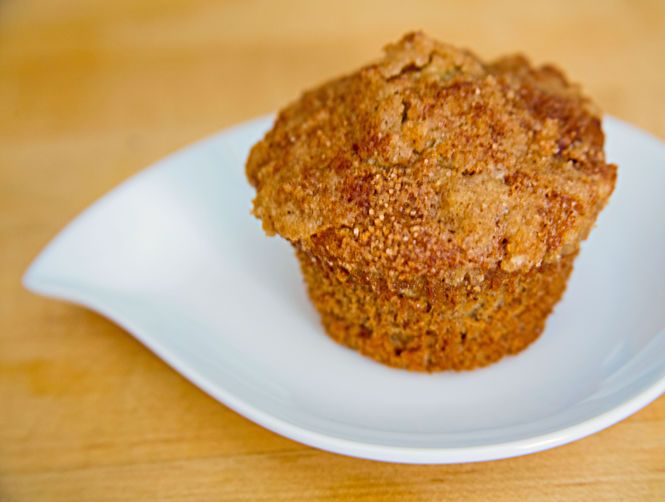 Banana-Cranberry Crumb Muffins with Streusel Topping | Recipe