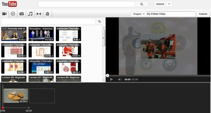 YouTube Editor: edit your movies online!