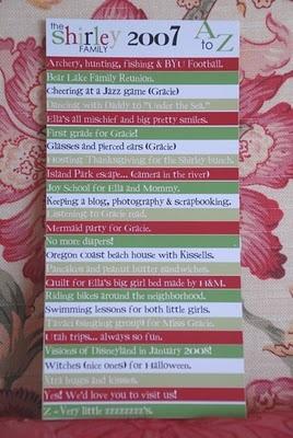 Alphabet Christmas Card. Good idea!  Christmas Photo/Card 2011 Ideas…