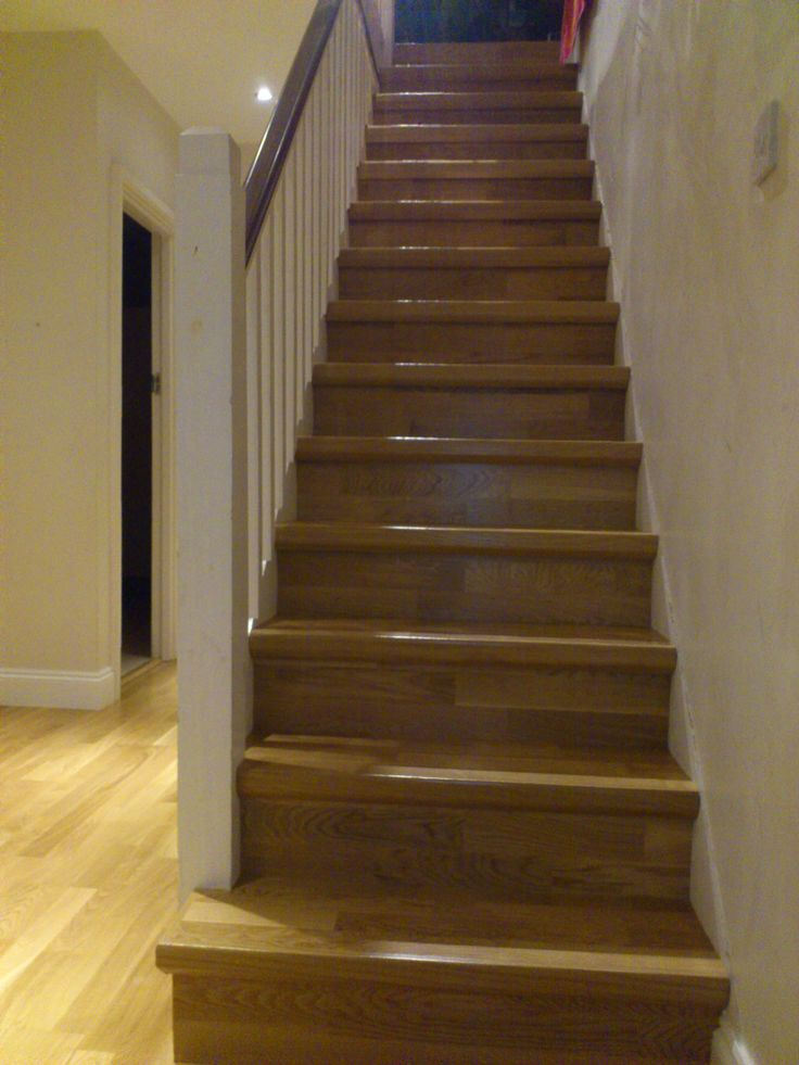 Quick step parquet flooring on stairs quick step for Quick step flooring ireland