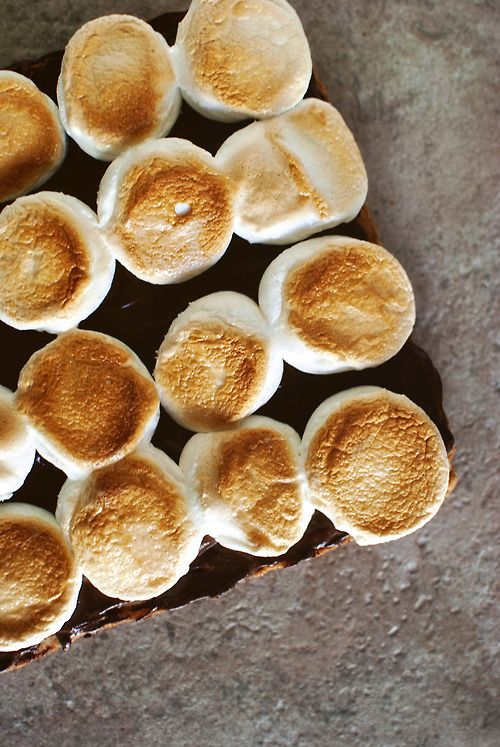 Toasted Marshmallow Squares | Baking inspiration | Pinterest