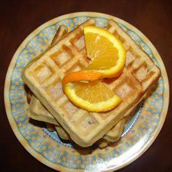Nutty Pecan Waffles Allrecipes.com | Favorite Recipes | Pinterest