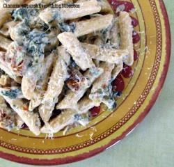 Shrimp and String Bean Pesto Pasta | Recipe