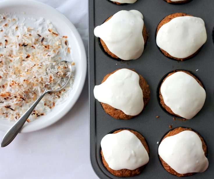 Healthy Whole Grain Carrot Coconut Morning Glory Muffins | Recipe