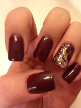 Fallwinter trends pretty polishes fall nail design prinsesfo Images