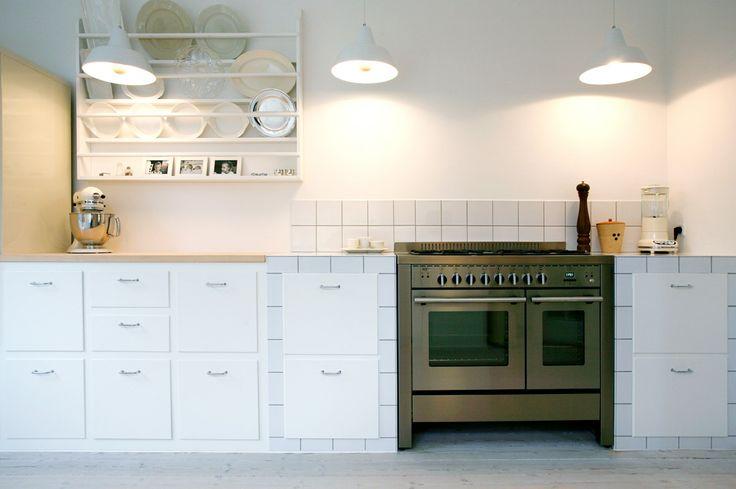 unikt hvidt køkken københavn  Køkken  Pinterest