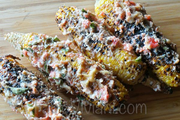 Parmesan-Garlic Corn - corn is in season in Colorado right now and we ...