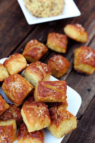 Soft Pretzel Bites recipe, gluten free   Gluten-free (sometimes dairy ...